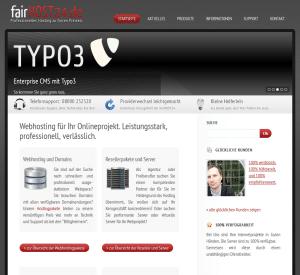 Webhosting bei fairHOST24.de