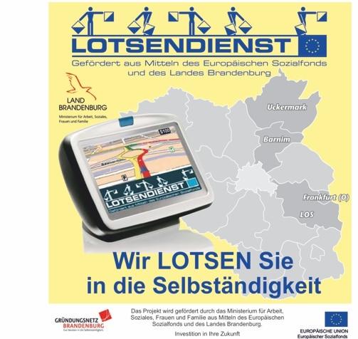 Lotsendienst, kostenlose Beratungsförderung in Brandenburg