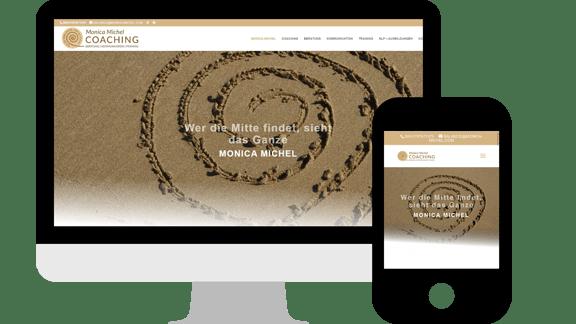 Webdesign Monica Michel Coaching in Wohlen / Schweiz