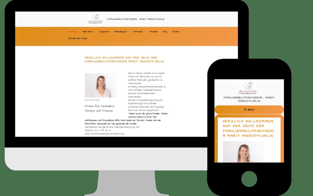 Webdesign für Heilpraktiker/in