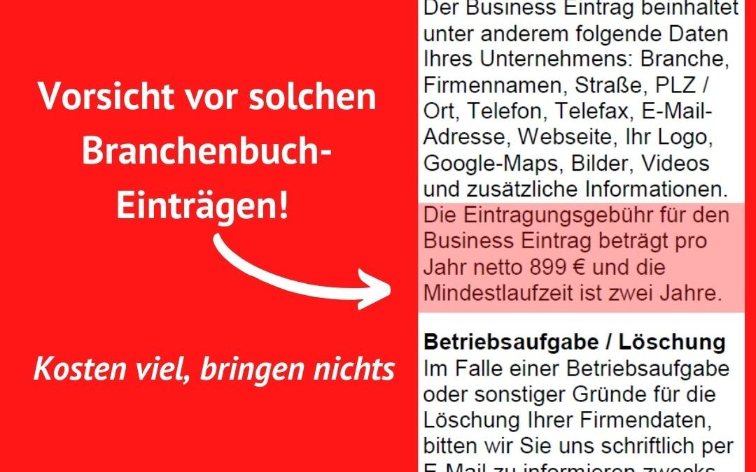 Digi Medien GmbH – Branchenbuch Abzocke!