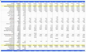 Liquiditätsplan für Imbiss & Café Gründung