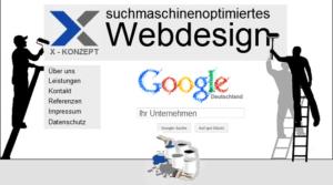 WebDesign von X-Konzept trifft Suchmaschinenoptimierung